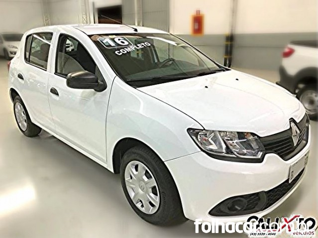Renault Sandero Authentique Plus 1.0 16V (Flex) - 16/16 - 29.990