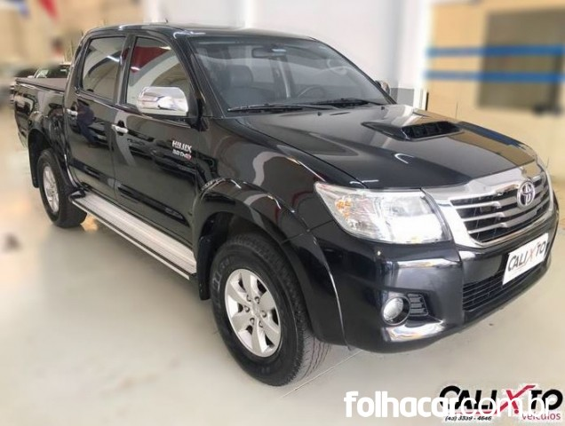 Toyota Hilux Cabine Dupla Hilux 3.0 TDI 4x4 CD SRV (Aut) - 12/13 - 115.000