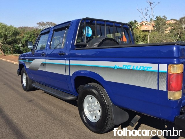 Chevrolet D20 Pick Up Custom Luxe 4.0 (cab. dupla) - 90/90 - 45.000