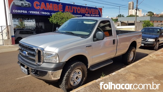 Ford F-250 XLT 4x4 3.9 (cab. simples) - 11/11 - 115.000