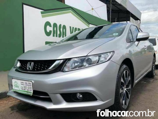 Honda Civic LXR 2.0 i-VTEC (Flex) (Aut) - 14/15 - 65.900