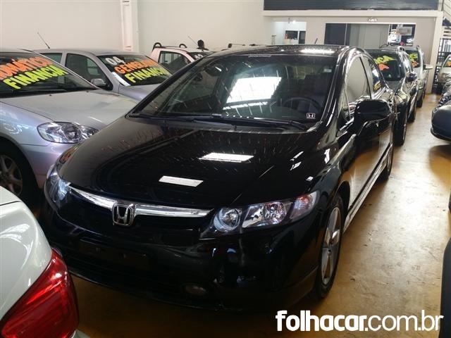 Honda Civic New LXS 1.8 16V (aut) (flex) - 08/08 - 36.900