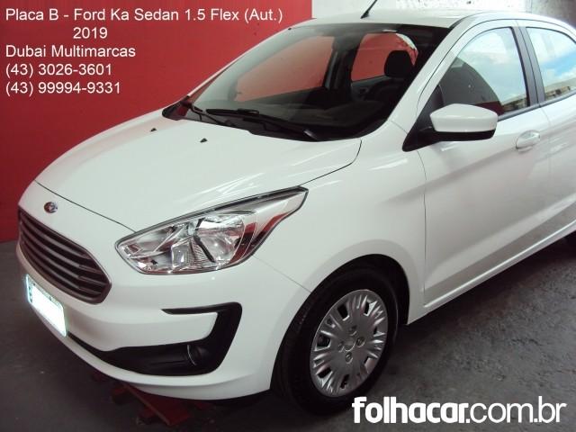Ford Ka+ Ka Sedan SE 1.5 16v (Flex) (Aut) - 19 - 55.900