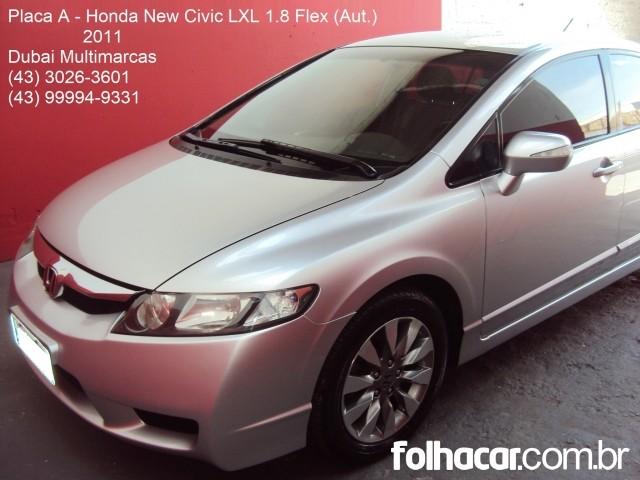 Honda Civic New LXL 1.8 i-VTEC (Couro) (aut) (Flex) - 11 - 41.900