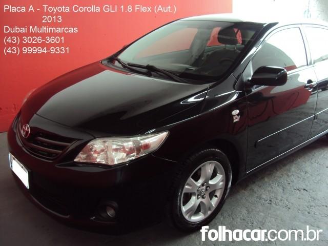 Toyota Corolla Sedan 1.8 Dual VVT-i GLI (aut) (flex) - 13 - 53.900