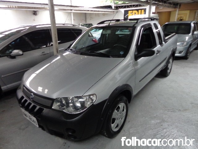 Fiat Strada Fire 1.4 (flex) (Cab. Estendida) - 07/08 - consulte