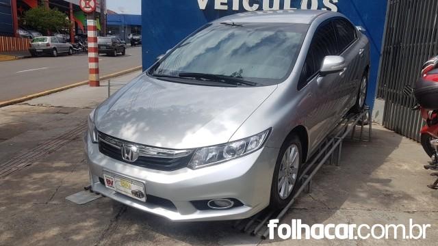Honda Civic New LXL 1.8 16V i-VTEC (flex) - 12/13 - 57.900