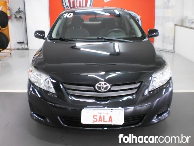 Toyota Corolla Sedan GLi 1.8 16V (flex) - 09/10 - 37.000