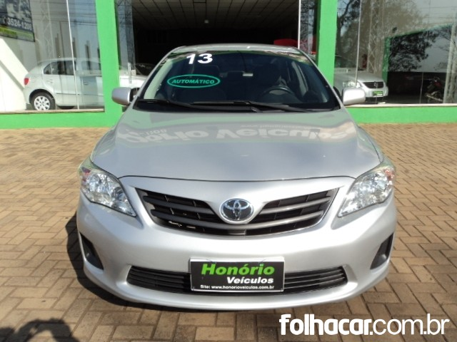 Toyota Corolla Sedan 1.8 Dual VVT-i GLI (aut) (flex) - 13 - consulte