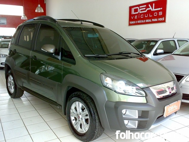 Fiat Idea Adventure 1.8 16V E.TorQ - 13/14 - 42.900