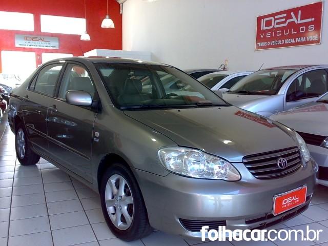 Toyota Corolla Sedan XEi 1.8 16V (aut) - 03/04 - 25.500
