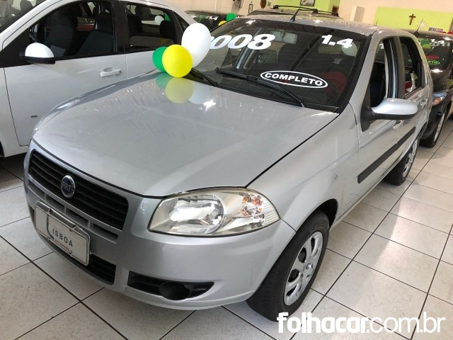 Fiat Palio ELX 1.4 (flex) - 08/08 - 19.500