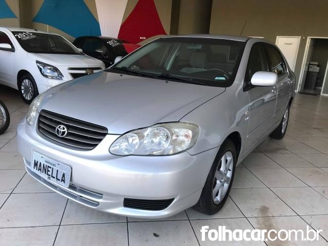 Toyota Corolla Sedan XEi 1.8 16V - 03/04 - 24.900
