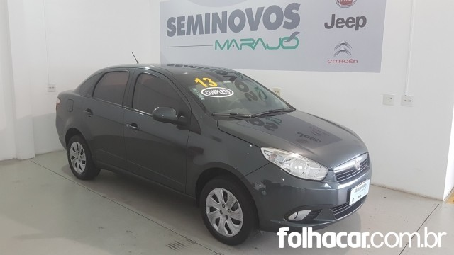 Fiat Grand Siena Attractive 1.4 8V (Flex) - 12/13 - 31.900