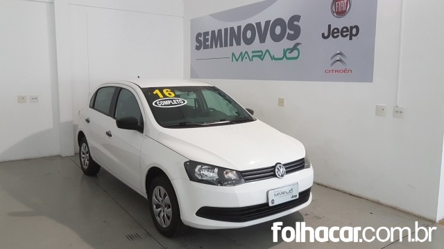 Volkswagen Gol 1.6 VHT Trendline (Flex) 4p - 15/16 - 32.900