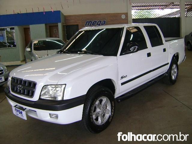 Chevrolet S10 Cabine Dupla 4x2 2.4 MPFi (cab. dupla) - 03/04 - 30.500