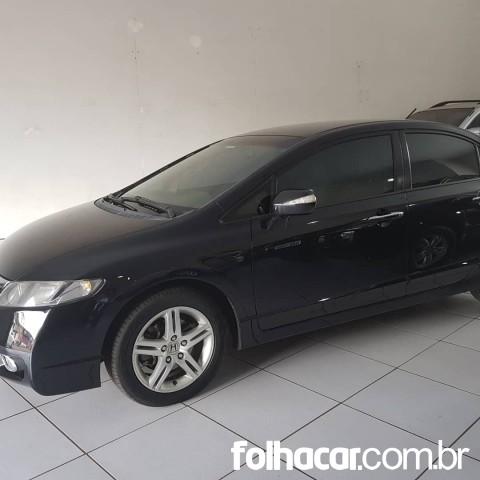 Honda Civic New EXS 1.8 16V (aut) (flex) - 09/09 - 39.000