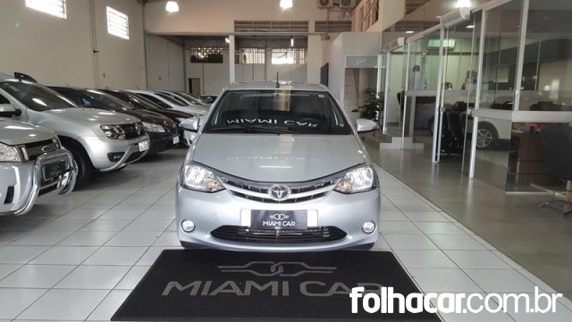 Toyota Etios Sedan XLS 1.5 (Flex) (Aut) - 16/17 - 52.800