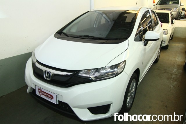 Honda Fit 1.5 16v DX CVT (Flex) - 14/15 - 47.800