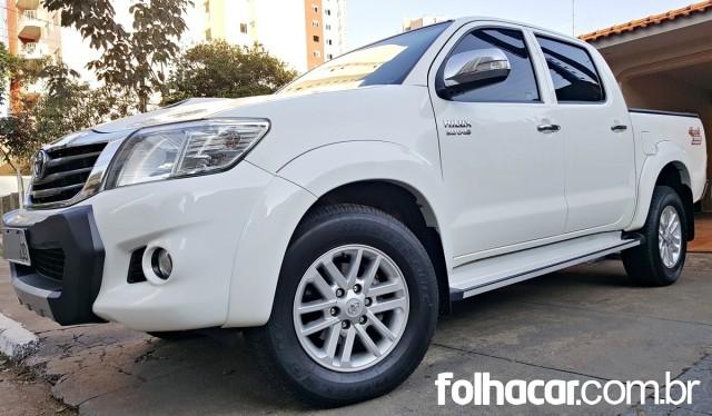 Toyota Hilux Cabine Dupla Hilux 3.0 TDI 4X4 CD SRV TOP Auto - 13/14 - 118.000