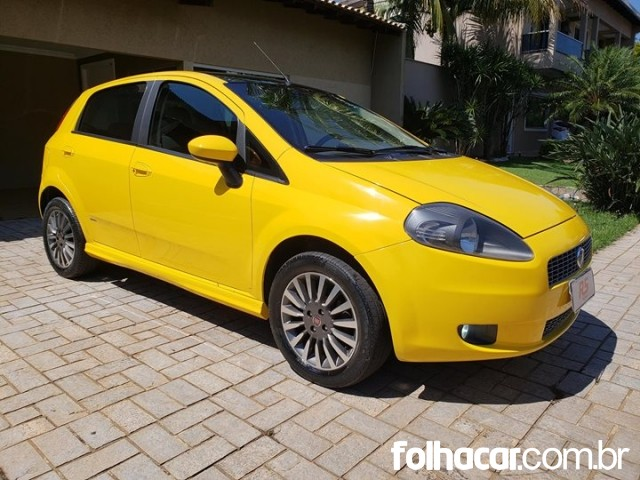 Fiat Punto Sporting 1.8 (flex) - 08/08 - 24.500