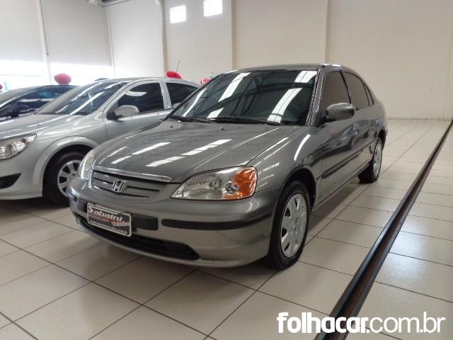 Honda Civic Sedan LX 1.7 16V - 01/01 - 17.500