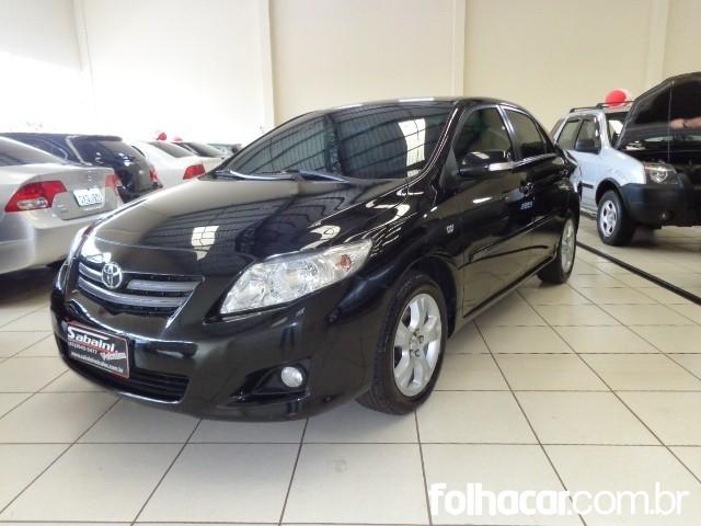 Toyota Corolla Sedan XEi 1.8 16V (flex) (aut) - 09/10 - consulte