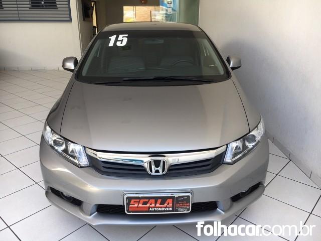 Honda Civic LXS 1.8 i-VTEC (Flex) (Aut) - 14/15 - 59.900