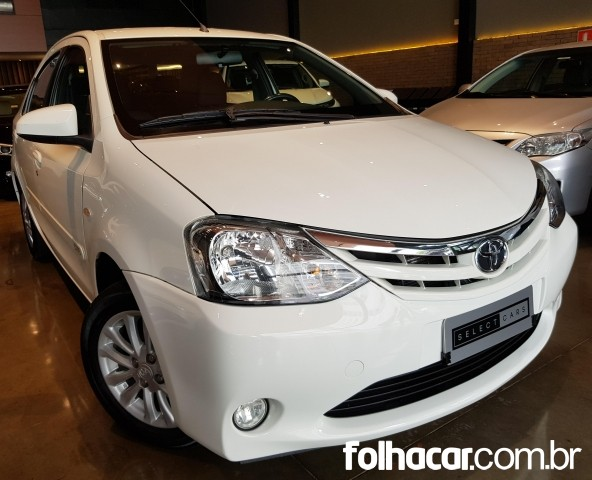 Select Cars - Toyota Etios Sedan XLS 1.5 (Flex) - Londrina 02a9a97eb8