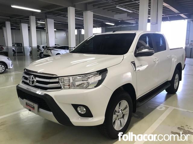Toyota Hilux Cabine Dupla Hilux 2.7 SRV CD 4x2 (Flex) (Aut) - 17/18 - 116.900