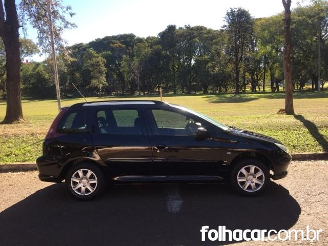 Peugeot 206 SW Presence 1.4 (flex) - 05/06 - 14.900