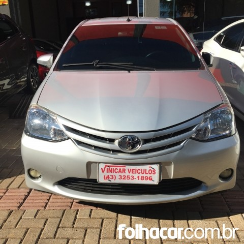 Toyota Etios Hatch Etios X 1.3 (Flex) - 15/15 - 34.500