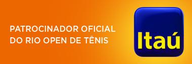 Itaú - Patrocinador Oficial do Rio Open de tênis