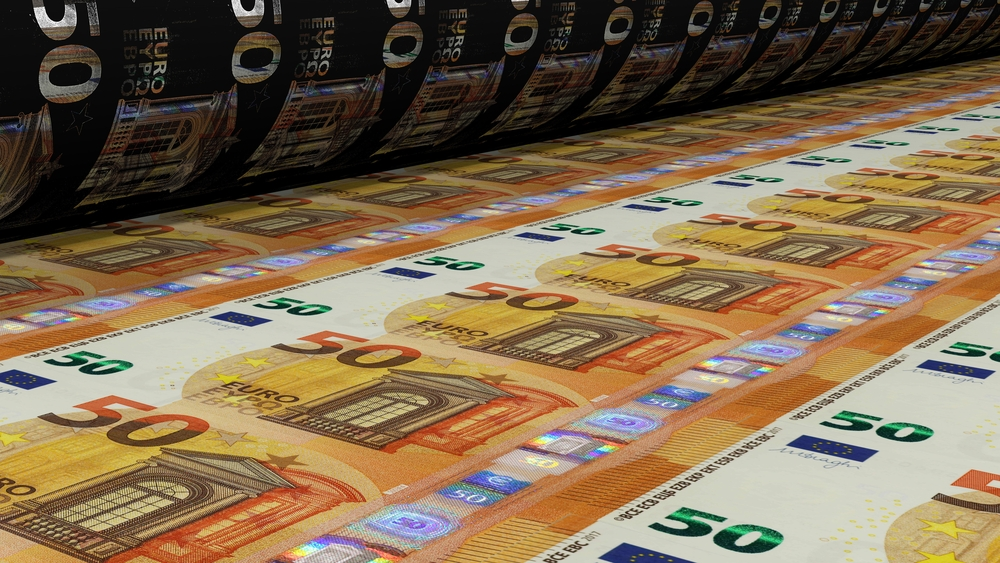 Impresión papel moneda