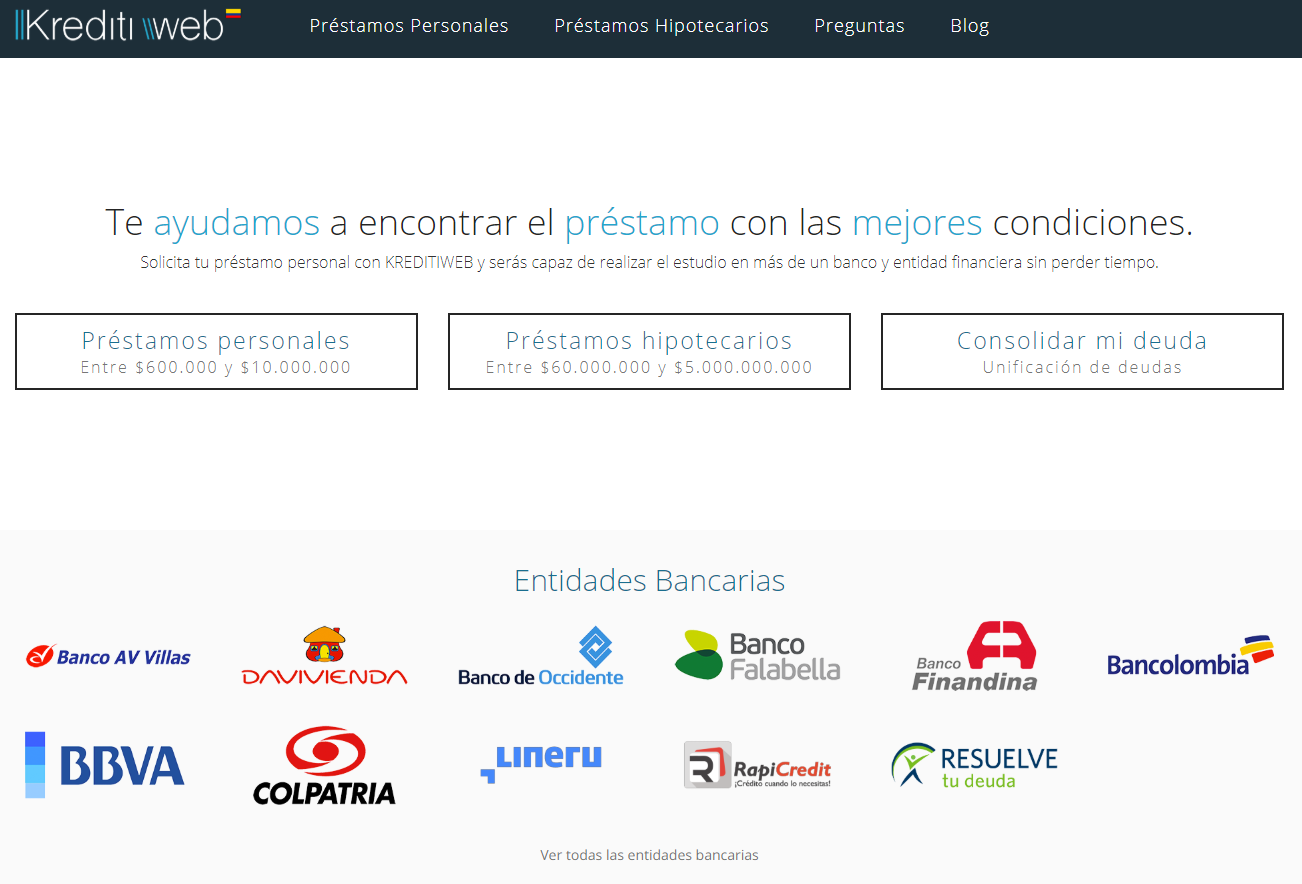 Kreditiweb Colombia