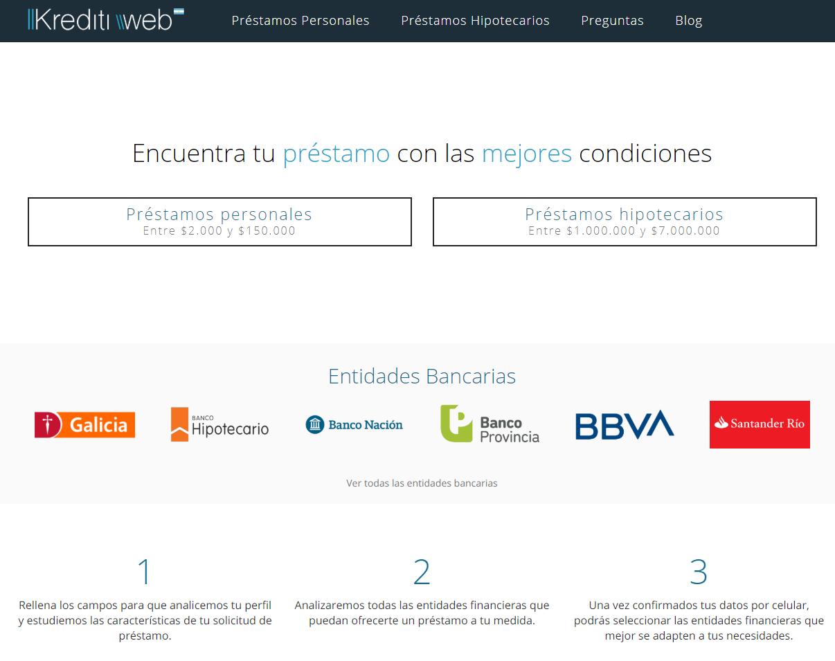 Kreditiweb Préstamos en Argentina