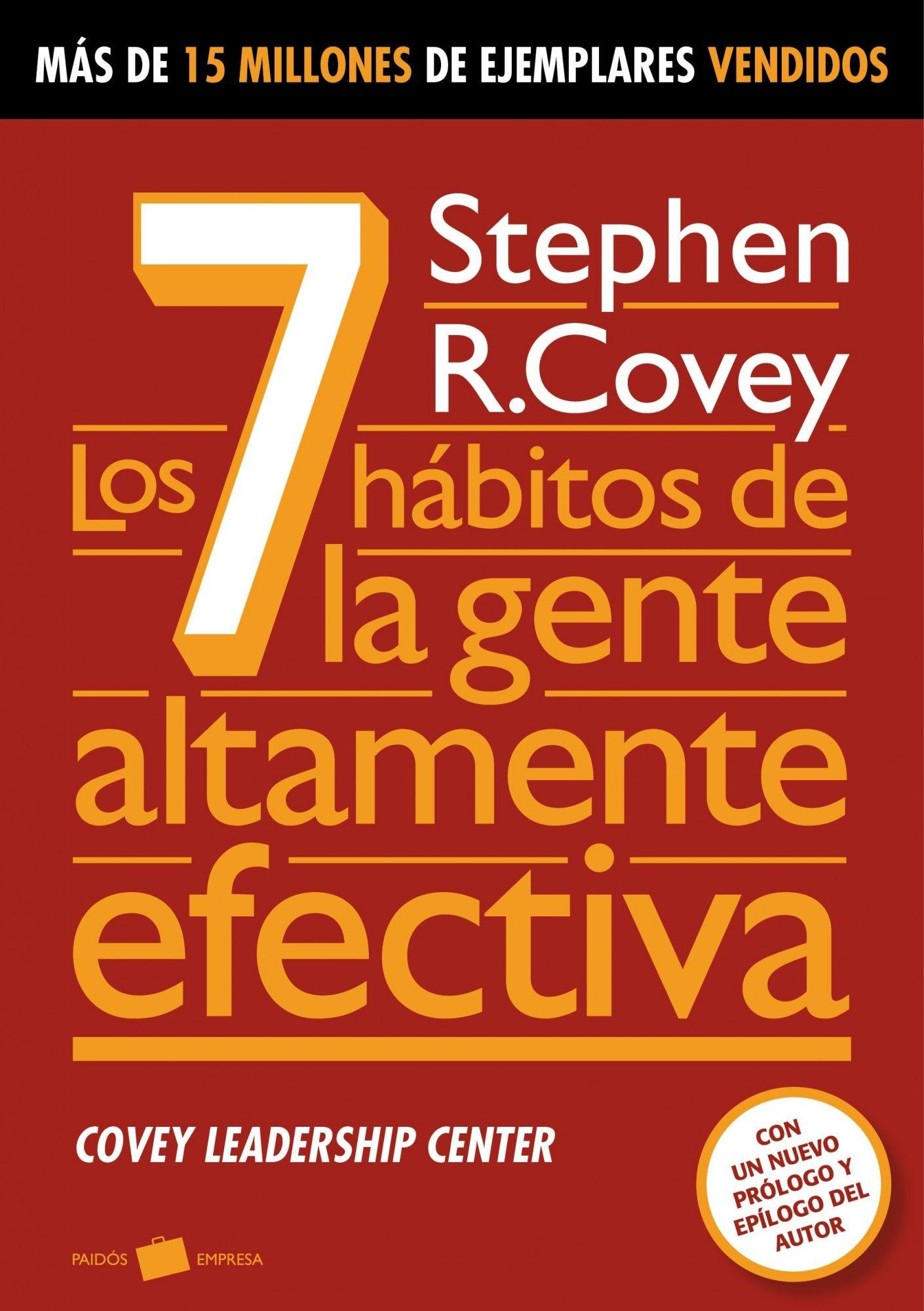 Los siete hábitos de la gente altamente efectiva: resumen del libro de Stephen Covey