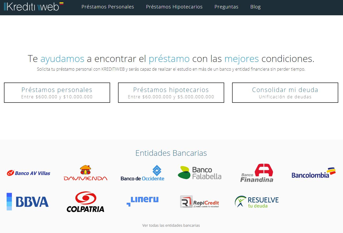 Kreditiweb Préstamos en Colombia