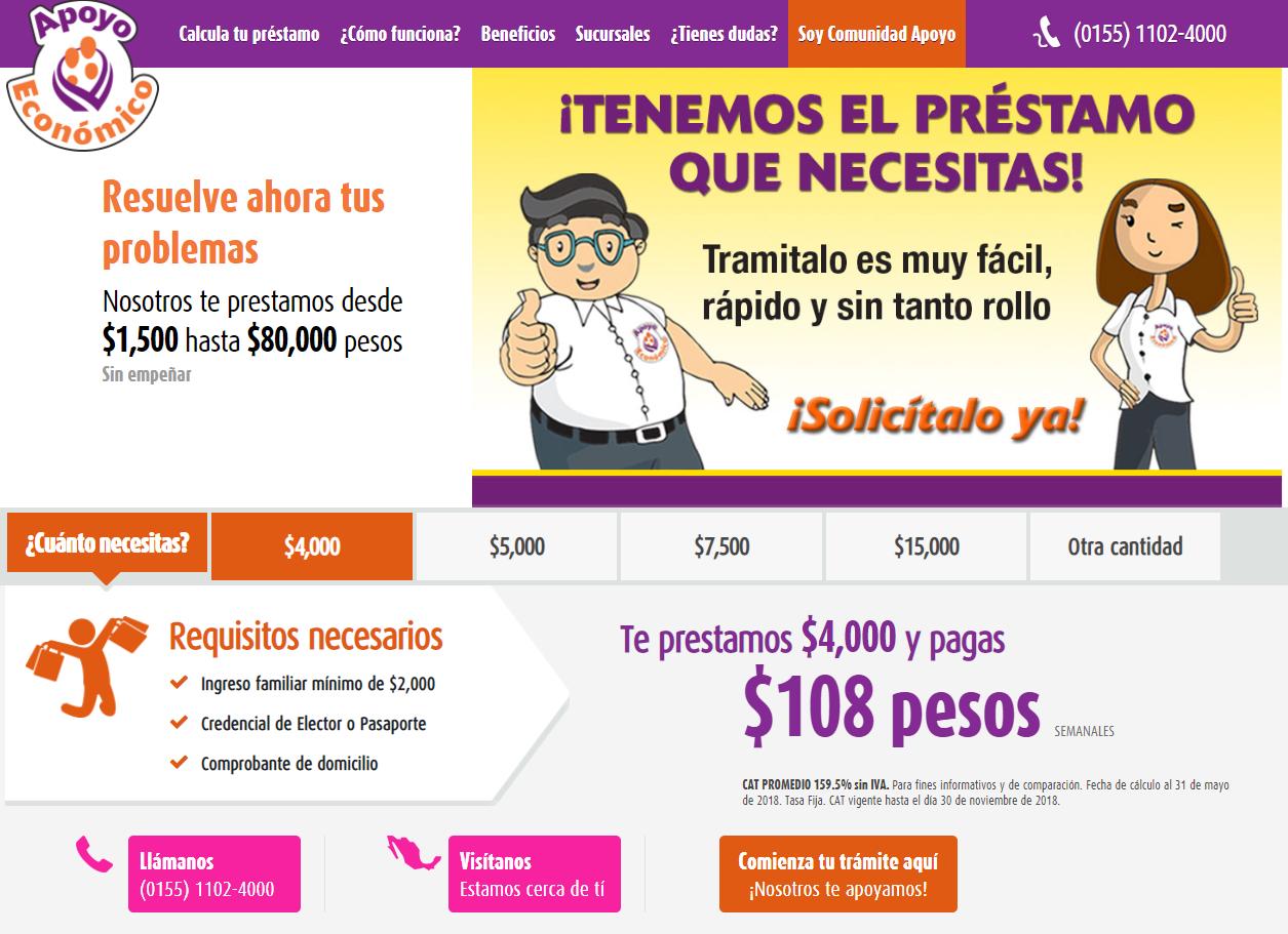 Préstamos Apoyo Económico en México