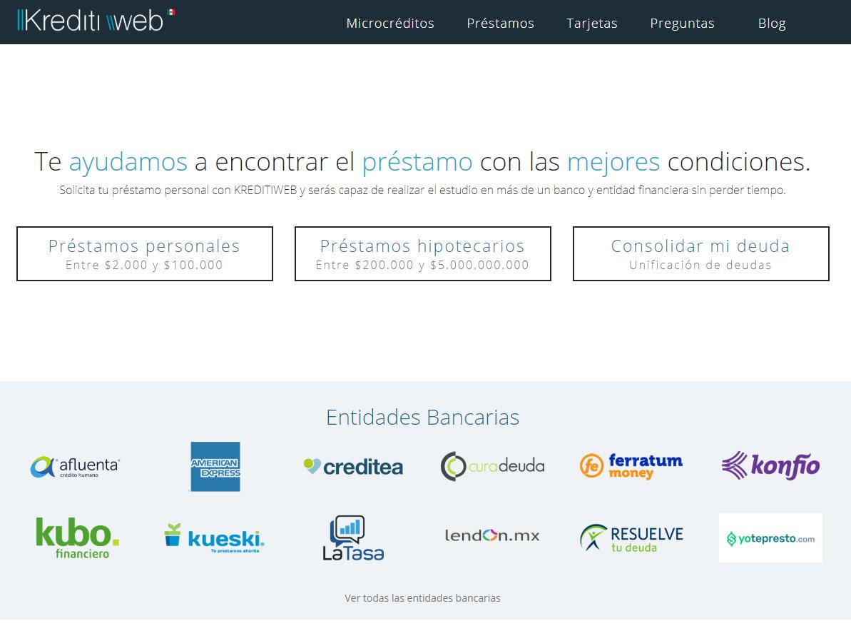 Kreditiweb Préstamos en México