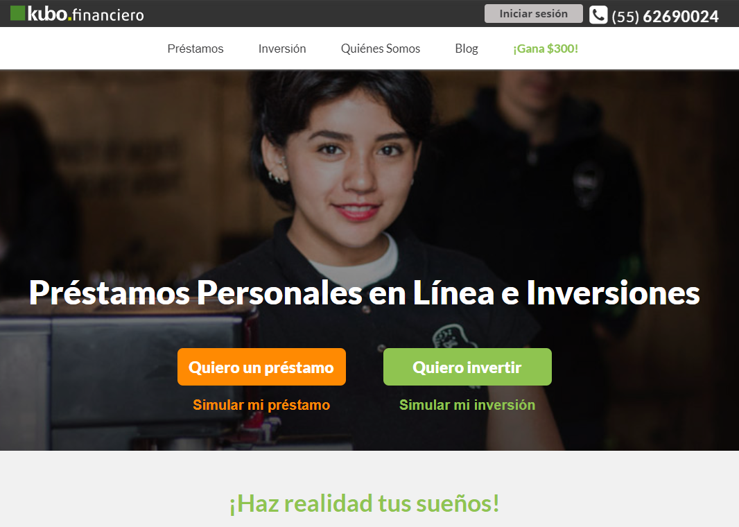 Préstamos Kubo Financiero México