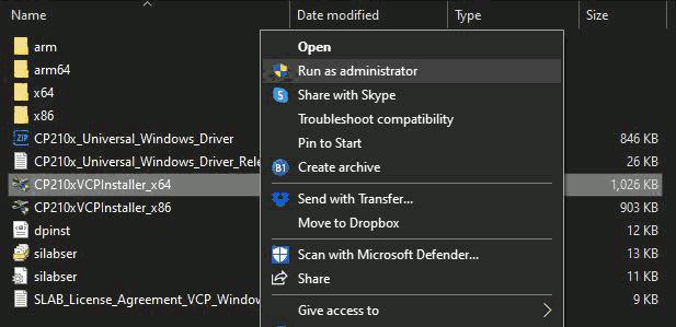 execucao-instalador-driver-administrador