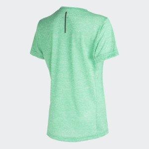 CAMISETA RUN TEE W GREEN ADIDAS