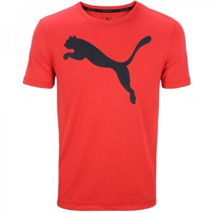 CAMISA PUMA ACTIVE TEE RED