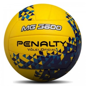 BOLA PENALTY VOLEI MG 3600 FUSION VIII AM-AZ-RX