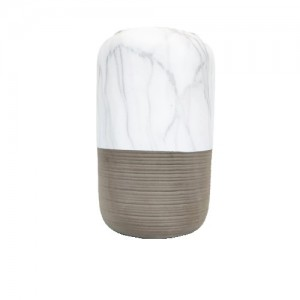 Vaso Cachepot de Cerâmica Marmorizada