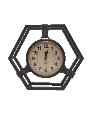 Relógio de Metal Preto