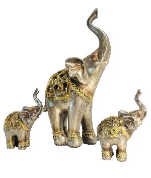 Escultura Elefante Indiano Pequeno
