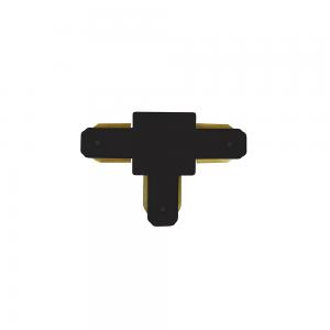 Emenda para Trilho (T) na cor Preto