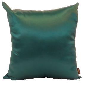 Almofada Silk Home Verde Liso 50cm x 50cm